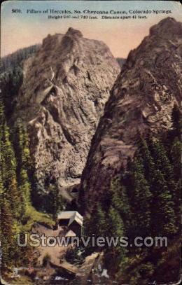 Cheyenne, Colorado Postcard