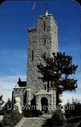Will Rogers Shrine and grounds  - Cheyenne, Colorado CO Postcard