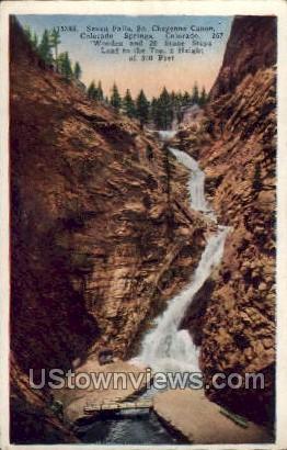 The Crags - Cheyenne, Colorado CO Postcard