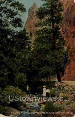 A Beauty Spot - Cheyenne, Colorado CO Postcard