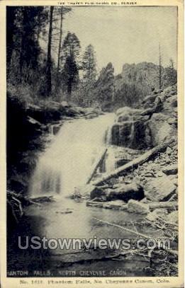 Phantom Falls - Cheyenne, Colorado CO Postcard