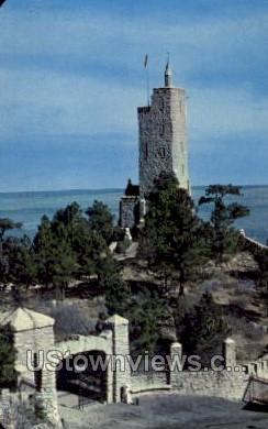 Will Rogers  - Colorado Springs Postcards, Colorado CO Postcard