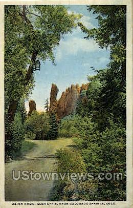 Glen Eyrie - Colorado Springs Postcards, Colorado CO Postcard