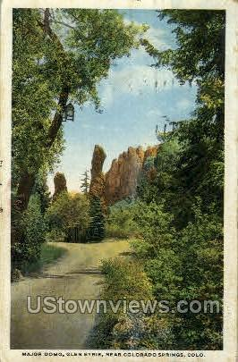 Major Domo, Glen Eyrie - Colorado Springs Postcards, Colorado CO Postcard