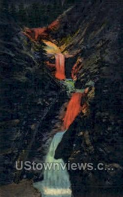 Seven Falls, South Cheyenne Canon - Colorado Springs Postcards, Colorado CO Postcard
