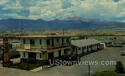 Air Point Apt. Motel - Colorado Springs Postcards, Colorado CO Postcard