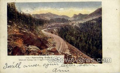 Cripple Creek Short Line. - Colorado Springs Postcards, Colorado CO Postcard