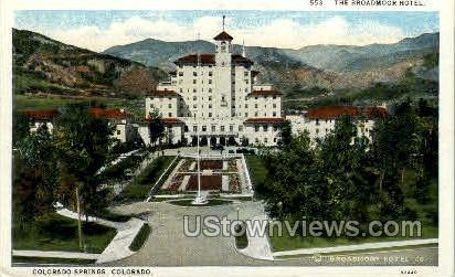 The Broadmoor Hotel - Colorado Springs Postcards, Colorado CO Postcard