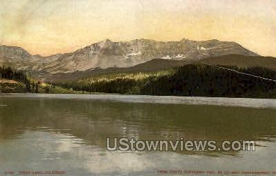 Trout Lake - Colorado Springs Postcards, Colorado CO Postcard