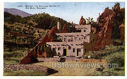Hidden Inn Gateway - Colorado Springs Postcards, Colorado CO Postcard