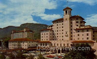 Vista of theThe Broadmoor - Colorado Springs Postcards, Colorado CO Postcard