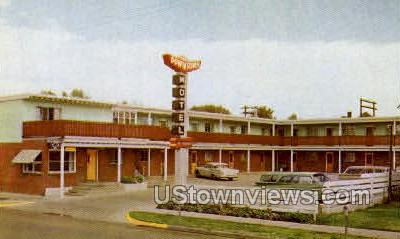 Downtown Motel - Colorado Springs Postcards, Colorado CO Postcard
