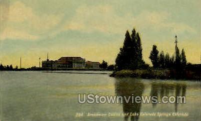 Broadmoor Casino Lake - Colorado Springs Postcards, Colorado CO Postcard
