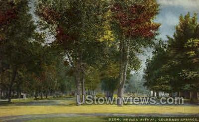 8204 Nevada Avenue - Colorado Springs Postcards, Colorado CO Postcard