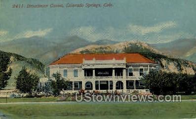 Broadmoor Casino  - Colorado Springs Postcards, Colorado CO Postcard