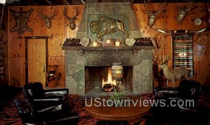 Buffalo Lodge - Colorado Springs Postcards, Colorado CO Postcard