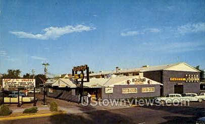 Ember Steak House and Motel - Colorado Springs Postcards, Colorado CO Postcard