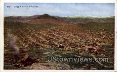 Gold District - Cripple Creek, Colorado CO Postcard