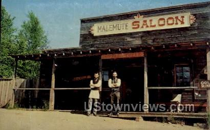 The Malemute Saloon - Cripple Creek, Colorado CO Postcard