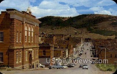 Bennett Avenue - Cripple Creek, Colorado CO Postcard