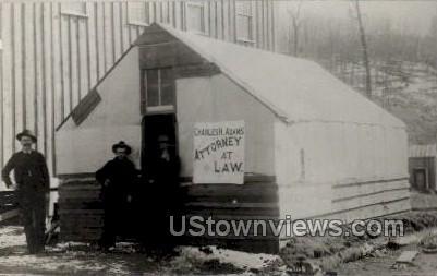 Charles H. Adams Attorney (Repro) - Cripple Creek, Colorado CO Postcard