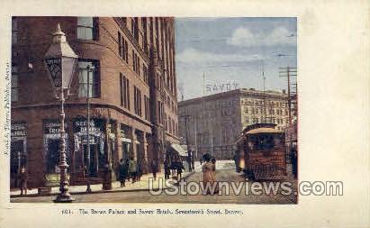 Brown Palace Hotel, Savoy Hotels - Denver, Colorado CO Postcard