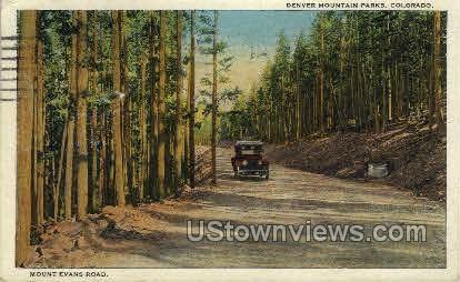 Mount Evans Road - Denver, Colorado CO Postcard