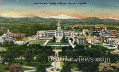 City and County Building - Denver, Colorado CO Postcard