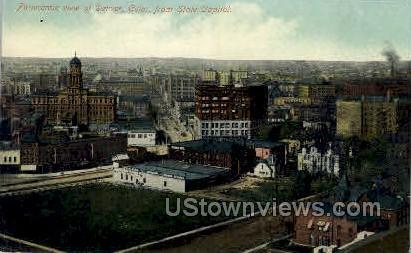 Panoromic view of Denver - Colorado CO Postcard
