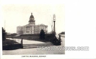 Capitol Building - Denver, Colorado CO Postcard