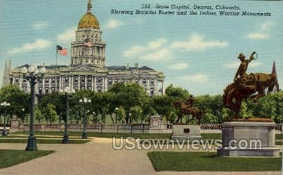 State Capitol - Denver, Colorado CO Postcard