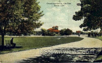 City Park - Denver, Colorado CO Postcard