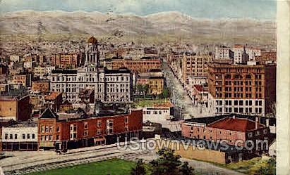 City of Denver - Colorado CO Postcard