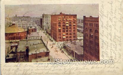 Seventeenth Street - Denver, Colorado CO Postcard