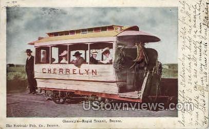 Cherrelyn-Rpid Transit - Denver, Colorado CO Postcard