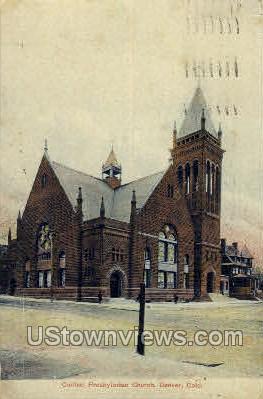 Central Presbyterian Church - Denver, Colorado CO Postcard