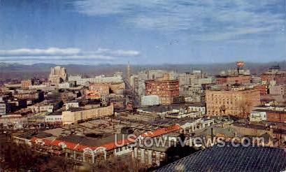 Denver Sky- Line - Colorado CO Postcard