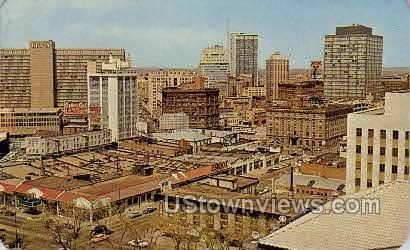 Down Town Denver  - Colorado CO Postcard