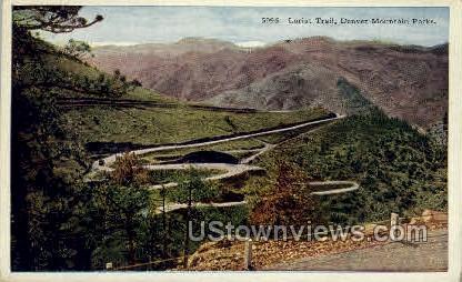 Lariat Trail - Denver, Colorado CO Postcard