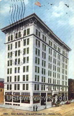 Ideal Building - Denver, Colorado CO Postcard