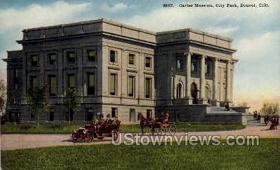 Carter Museum, City Park - Denver, Colorado CO Postcard