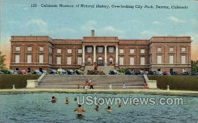 Museum of Natural History - Denver, Colorado CO Postcard
