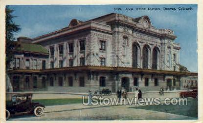 The Union Station - Denver, Colorado CO Postcard