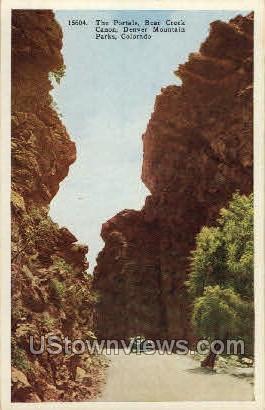 The Portals Bear Creek Canon - Denver, Colorado CO Postcard