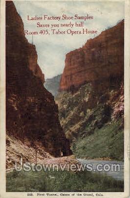 Ladies Factory Shoe Samples - Denver, Colorado CO Postcard