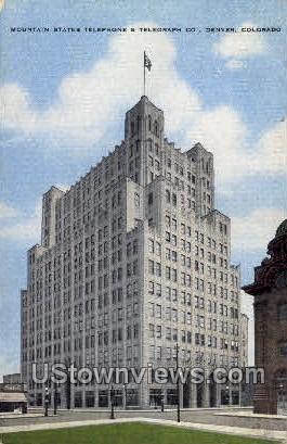 Mnt. States Tele & Telegraph Co. - Denver, Colorado CO Postcard