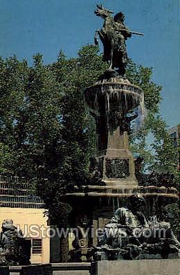 Pioneer Mountain - Denver, Colorado CO Postcard
