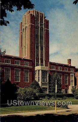 Mary Reed Library University of Denver - Colorado CO Postcard
