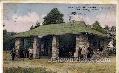 Shelter House  - Denver, Colorado CO Postcard
