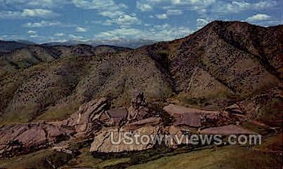 Amphitheatre park of the red rocks - Denver, Colorado CO Postcard